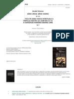 Rudolf Steiner - Mistica. Gand Uman, Gand Cosmic GA 7; GA151