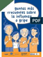 Preguntas frecuentes sobre la influenza o gripe