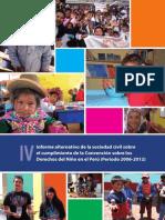 IV Informe Sociedad Civil Sobre El Cumplimiento de La CDN