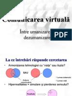 """""""Comunicarea virtuală"""
