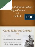 Haley Behr's Project on Sallust Codex