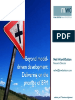 Delivering on the Promise BPM