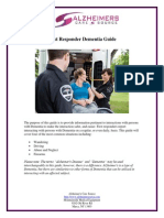 First Responder Dementia Guide