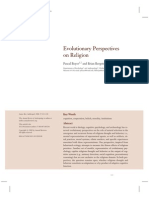 Evolutionary Perspectives on Religion by Pascal Boyer &Brian Bergstrom