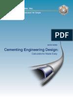 Cementing Engineering Design