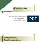 URGÊNCIAS E EMERGENCIAS CLÍNICAS 2007.2