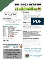 March 14 Newsletter
