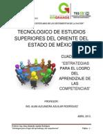 Cuadernillo de Estrategias Para El Logro de Aprendizaje Por Competencias_aaar_completo