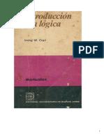 21528729 Introduccion a La Logica Irwin Copi