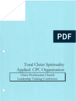 A Primer on Total Christ Spirituality Applied