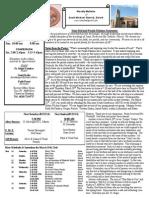 St. Michael's March 16, 2014 Bulletin