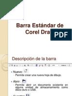 Barra Estándar de Corel Draw