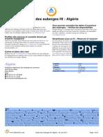 HI Guide Des Auberges de Jeunesse Algerie