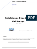 Installation de Cisco Unified Call a240