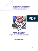 Evaluacion de Desmepeno -Politicas y Sistemas