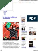 Das democracias totalitárias ao Pós-Capitalismo