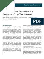 Do NSA's Bulk Surveillance Programs Stop Terrorism?