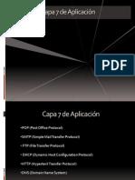Capa 7 de Aplicación