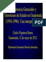 Genocidio y Terrorismo de Estado Mayo 2012