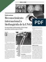 Fungifree Gaceta UNAM (10-Mar-14)