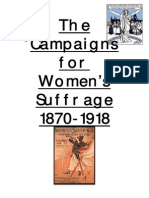Suffragette Revision Booklet