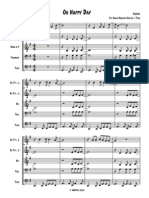 Oh Happy Day - Brass Quintet - Arr. Tibo
