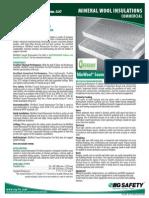 IIG Mineral Wool Spec Sheet