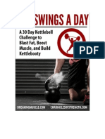 Breaking Muscle 300swings a Day eBook