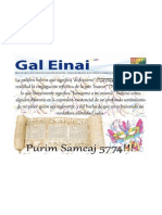 Purim Con Gal Einai 5774-14!03!2014