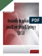 JavaEE Struts2 Spring EJB3
