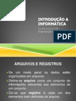 Conferência nº 06 - Organização da Informação
