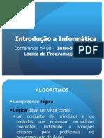 Conferência nº 08 - Introdução à Lógica de Programação