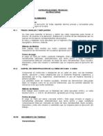 4.1 Especificaciones Técnicas Estructuras