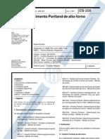 NBR 5735 - EB-208 - Cimento Portland de Alto Forno