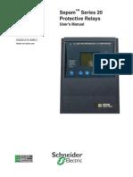 Requerimientos de Prueba- Sepam S20