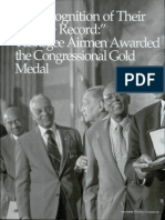 Tuskegee Airmen Awarded the Congressional Gold Medal