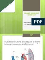 TROMBO-EMBOLISMO PULMONAR