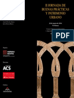 II JORNADA DE  BUENAS PRÁCTICAS  Y PATRIMONIO  URBANO