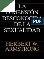 La Dimension Desconocida de La Sexualidad