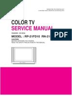 RP-21FD10 TV Flatron LG 21.PDF