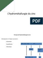 Hydrometallurgie Du Zinc