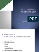 Dokumentasi Post Operatif