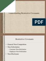 Understanding Restrictive Covenants