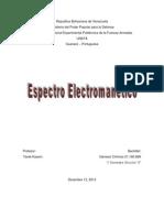 Trabajo de Espectro Electromagnetico