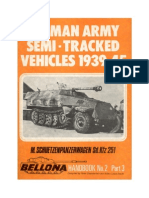 (1972) (Bellona Handbook No.2) German Army Semi-Tracked Vehicles 1939-45, Part 3 - M. Schuetzenpanzerwagen Sd. Kfz 251