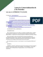Reglamentpo Comercializacion Glp Ds 01-94-Em