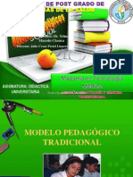 Modelos pedagógicos TRABAJO Julio Cesar Pretel Linares