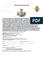 Special Needs Kids in Scouting Training Flyer - Tuscarora Council 2014