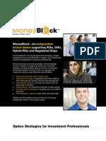 Moneyblock Option Strategies