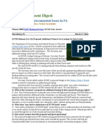 Pa Environment Digest March 17, 2014
